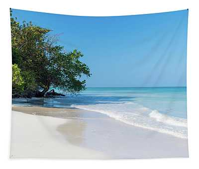 Negril Beach Morning Tapestry