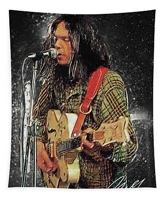 Neil Young Tapestry