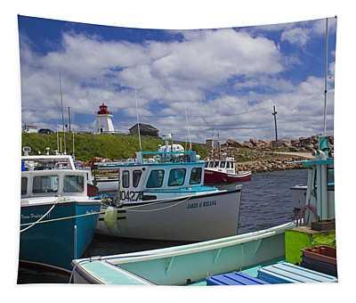 Neil's Harbour - Cape Breton Island  Tapestry
