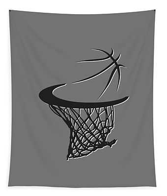 Nets Basketball Hoop Tapestry