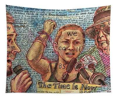 Never Again Msd Tapestry