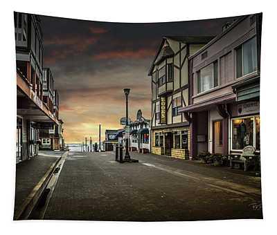 Nye Beach Sunset Tapestry