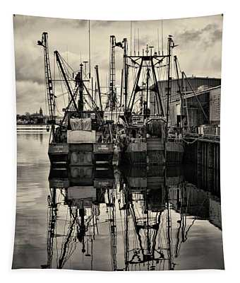 New Bedford Waterfront No. 1 Tapestry
