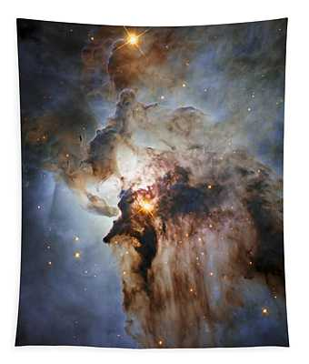 New Hubble View Of The Lagoon Nebula Tapestry