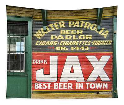 New Orleans Beer Parlor Tapestry