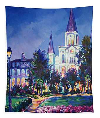 Jackson Square New Orleans Tapestry