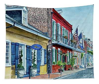 New Orleans, Street Scene, Pierre Hotel Tapestry
