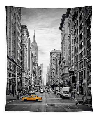 New York City 5th Avenue Tapestry