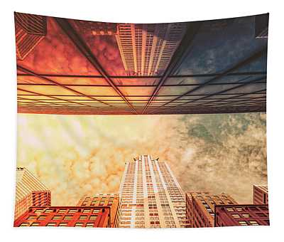 New York City - Chrysler Building Tapestry
