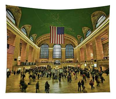 New York Minute Tapestry