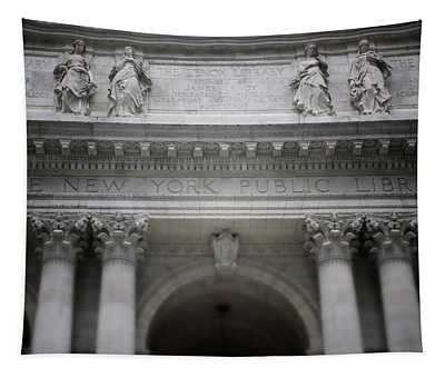 New York Public Library- Art By Linda Woods Tapestry