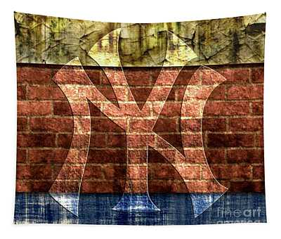 New York Yankees Brick 2 Tapestry
