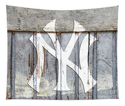 New York Yankees Rustic 2 Tapestry