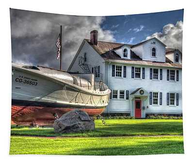 Newport Coast Guard Station Tapestry