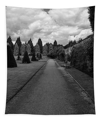 Newstead Abbey Country Garden Gravel Path Tapestry