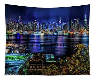 Night Beauty Tapestry