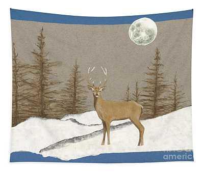 Night Encounter Tapestry