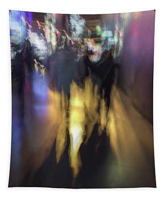 Night On The Town Tapestry