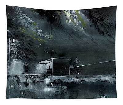 Night Out Tapestry