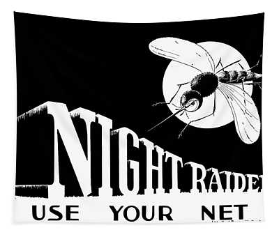 Night Raider Ww2 Malaria Poster Tapestry