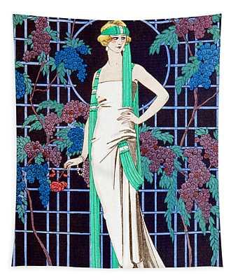 Night Rose Tapestry