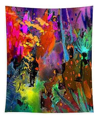 Night Serenade Tapestry
