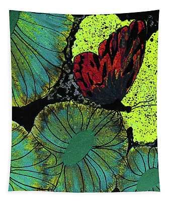 Night Vision Tapestry