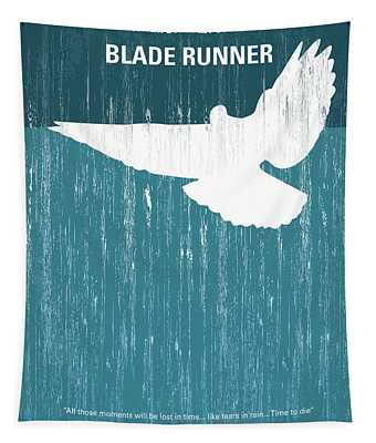 No011 My Blade Runner Minimal Movie Poster Tapestry