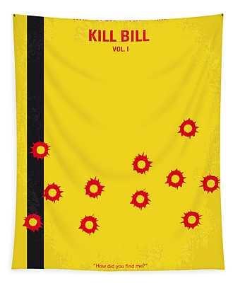 No048 My Kill Bill -part 1 Minimal Movie Poster Tapestry