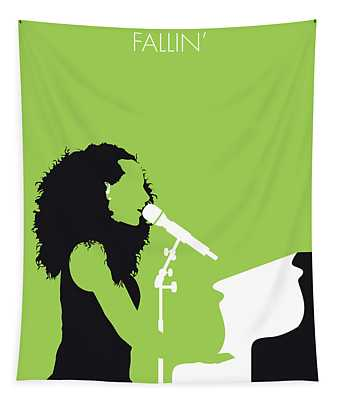 No066 My Alicia Keys Minimal Music Poster Tapestry