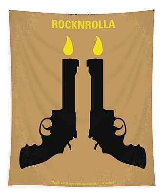 No071 My Rocknrolla Minimal Movie Poster Tapestry