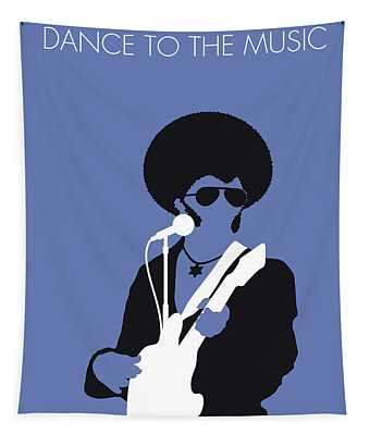 No088 My Sly And The Family Stone Minimal Music Poster Tapestry