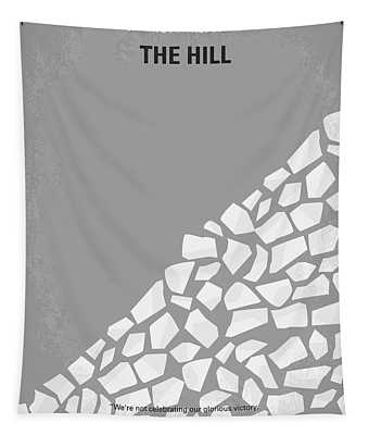 No091 My The Hill Minimal Movie Poster Tapestry