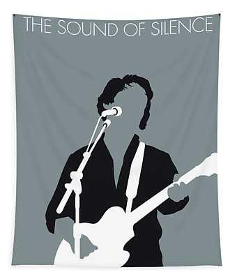 No097 My Paul Simon Minimal Music Poster Tapestry
