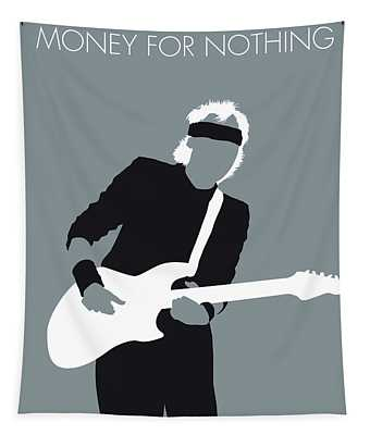 No107 My Mark Knopfler Minimal Music Poster Tapestry