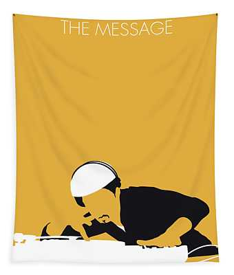 No114 My Grandmaster Flash Minimal Music Poster Tapestry