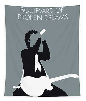 No117 My Green Day Minimal Music Poster Tapestry