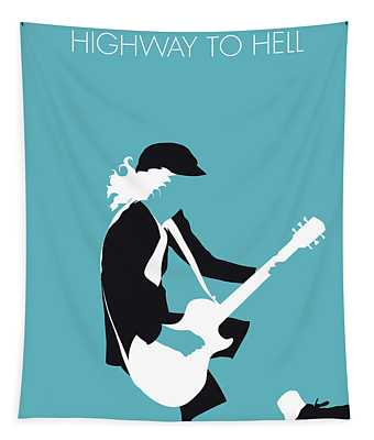 No125 My Acdc Minimal Music Poster Tapestry