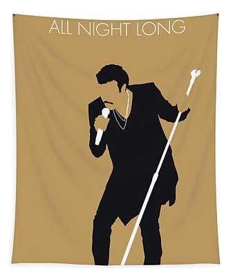 No130 My Lionel Richie Minimal Music Poster Tapestry