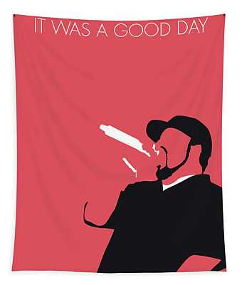 No132 My Ice Cube Minimal Music Poster Tapestry