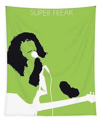 No166 My Rick James Minimal Music Poster Tapestry