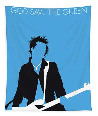 No169 My Sex Pistols Minimal Music Poster Tapestry