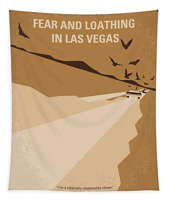 No293 My Fear And Loathing Las Vegas Minimal Movie Poster Tapestry