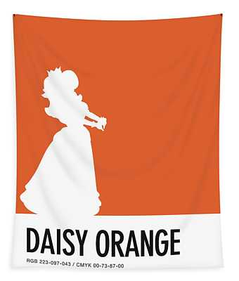 No35 My Minimal Color Code Poster Princess Daisy Tapestry