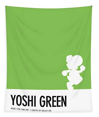 No36 My Minimal Color Code Poster Yoshi Tapestry