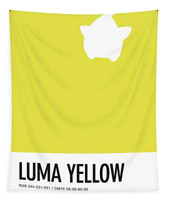 No40 My Minimal Color Code Poster Luma Tapestry