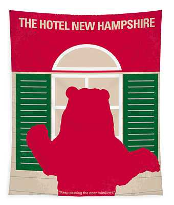 No443 My The Hotel New Hampshire Minimal Movie Poster Tapestry