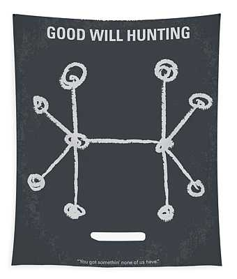No461 My Good Will Hunting Minimal Movie Poster Tapestry