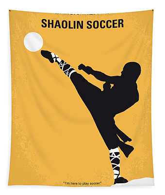 No480 My Shaolin Soccer Minimal Movie Poster Tapestry