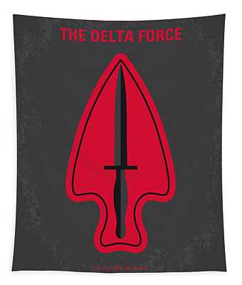No493 My The Delta Force Minimal Movie Poster Tapestry